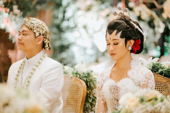 Diandra & Yos Wedding by Ambar Paes Traditional Wedding Make Up - 006