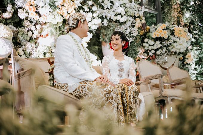 Diandra & Yos Wedding by Ambar Paes Traditional Wedding Make Up - 007