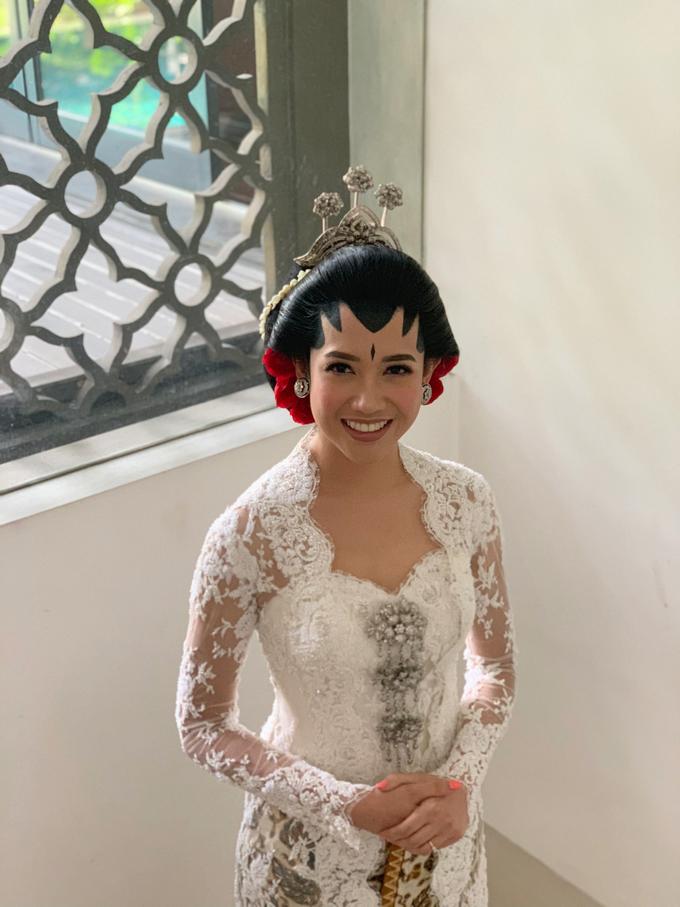 Diandra & Yos Wedding by Ambar Paes Traditional Wedding Make Up - 009