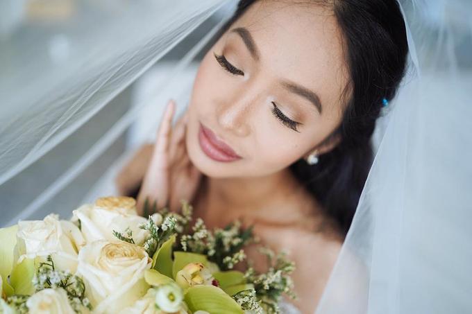 Beautiful Bride Yeng by Makeup By Zubi - 005