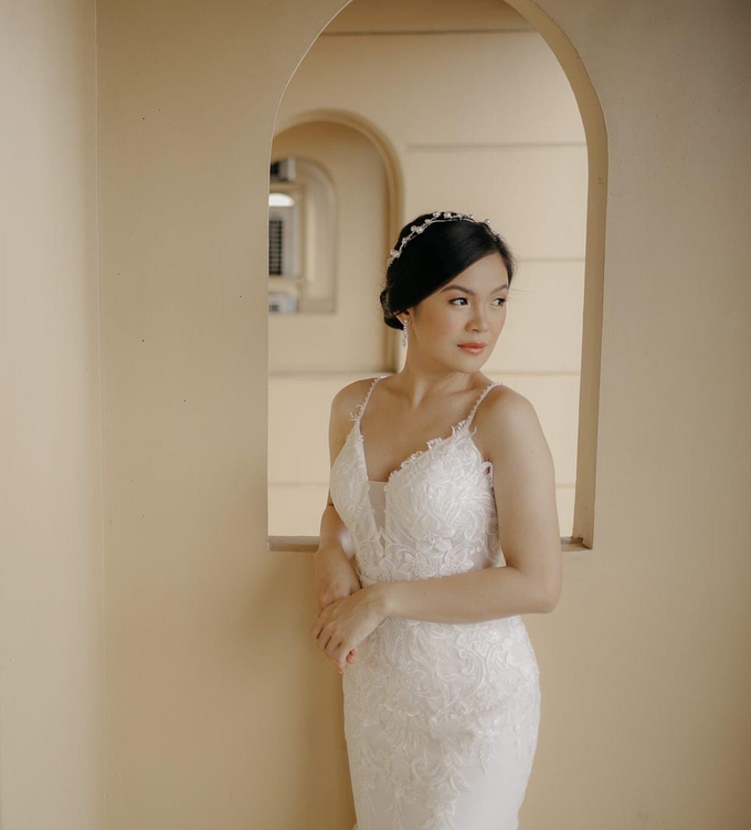 Beautiful Bride Jec Camille by Makeup By Zubi - 003