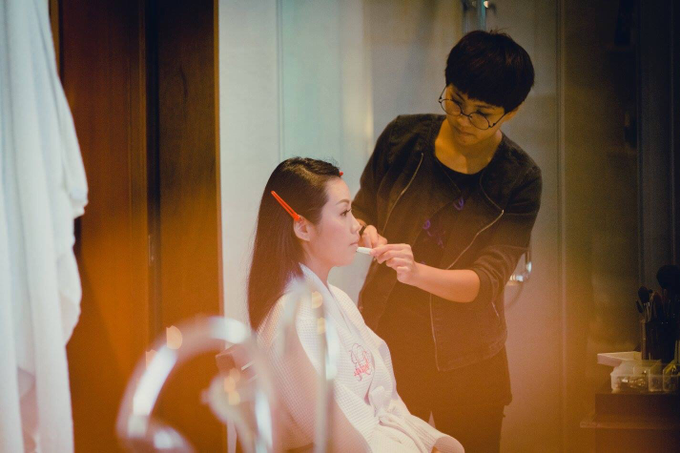 Behind the scene by Makeup Pros - 002