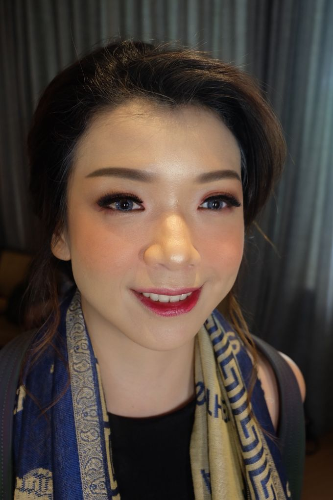 Makeup For Sister's Of The Bride by Makeup by Ng Nita - 006