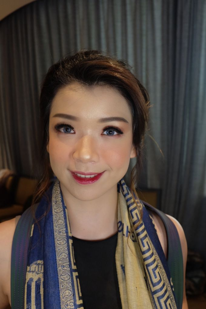 Makeup For Sister's Of The Bride by Makeup by Ng Nita - 005