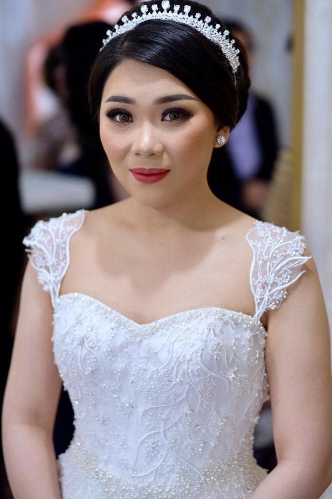Wedding Makeup for Ms. Maria by makeupbyyobel - 003