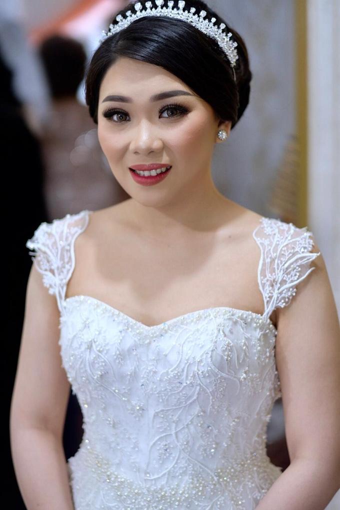 Wedding Makeup for Ms. Maria by makeupbyyobel - 004