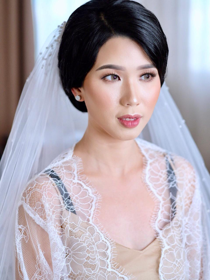 Wedding Makeup Ms. Felicia by makeupbyyobel - 001
