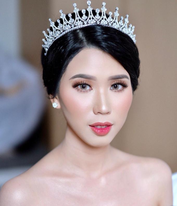 Wedding Makeup Ms. Felicia by makeupbyyobel - 005