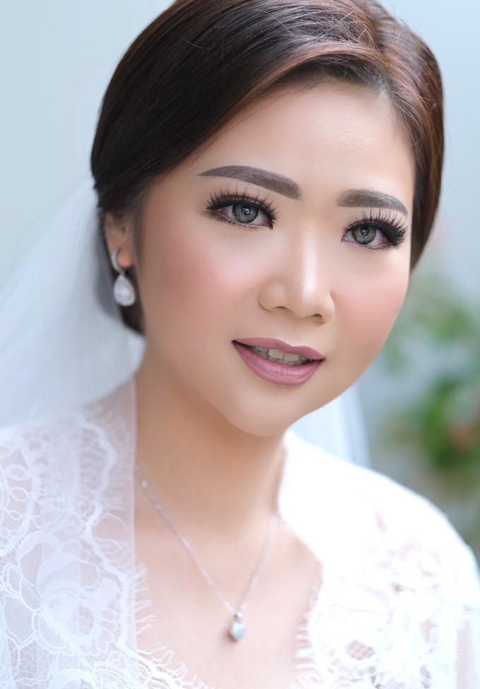 Wedding Makeup - Bride Sally - by makeupbyyobel - 001