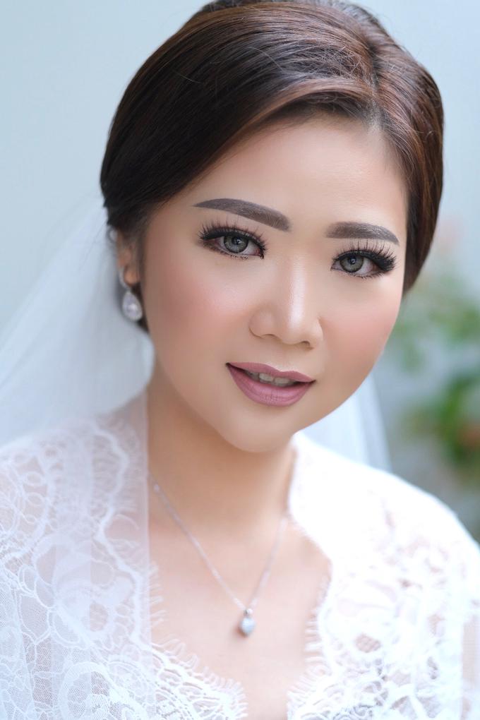 Wedding Makeup - Bride Sally - by makeupbyyobel - 002