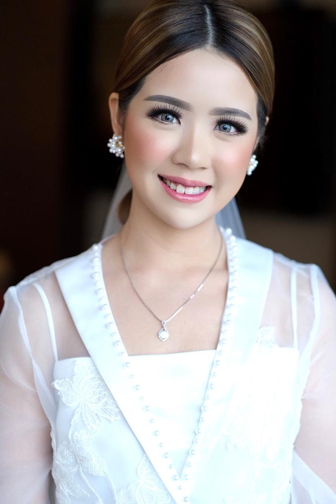 Wedding Makeup - Bride lusi - by makeupbyyobel - 002