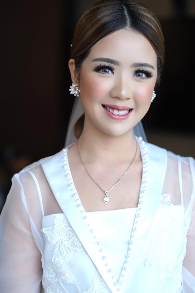 Wedding Makeup - Bride lusi - by makeupbyyobel - 001