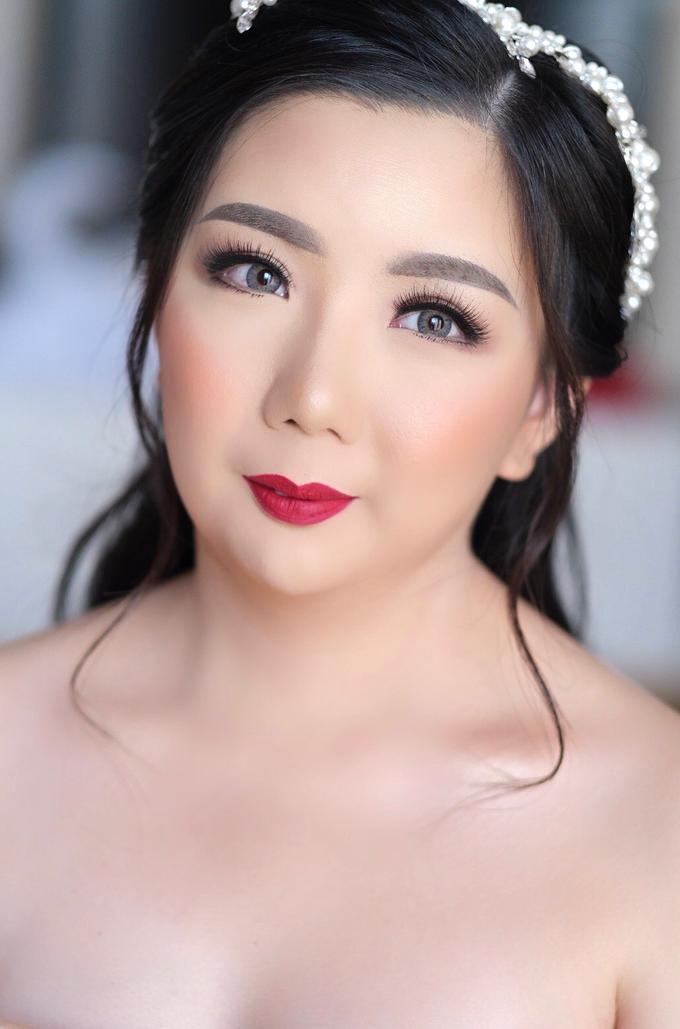 Wedding Makeup - Bride Meily - by makeupbyyobel - 001