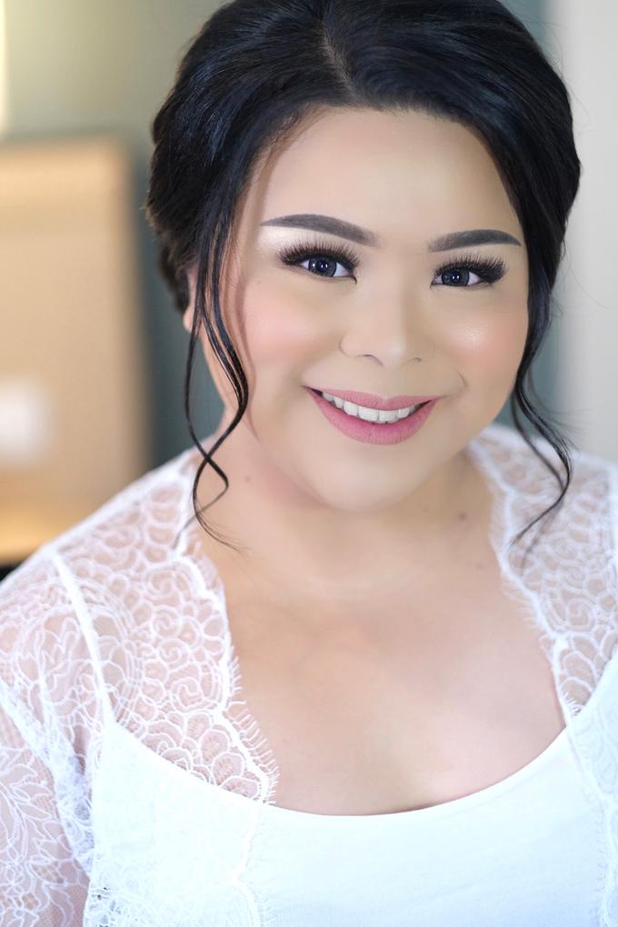 Wedding Makeup - Bride Renata - by makeupbyyobel - 001