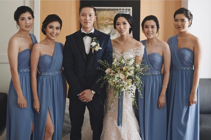 • ROBERT & MICHELLE • SERENITY BLUE by MALVA Bridesmaids - 003