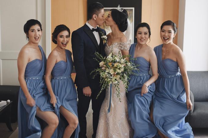 • ROBERT & MICHELLE • SERENITY BLUE by MALVA Bridesmaids - 002