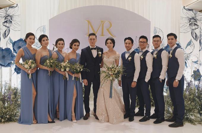 • ROBERT & MICHELLE • SERENITY BLUE by MALVA Bridesmaids - 001