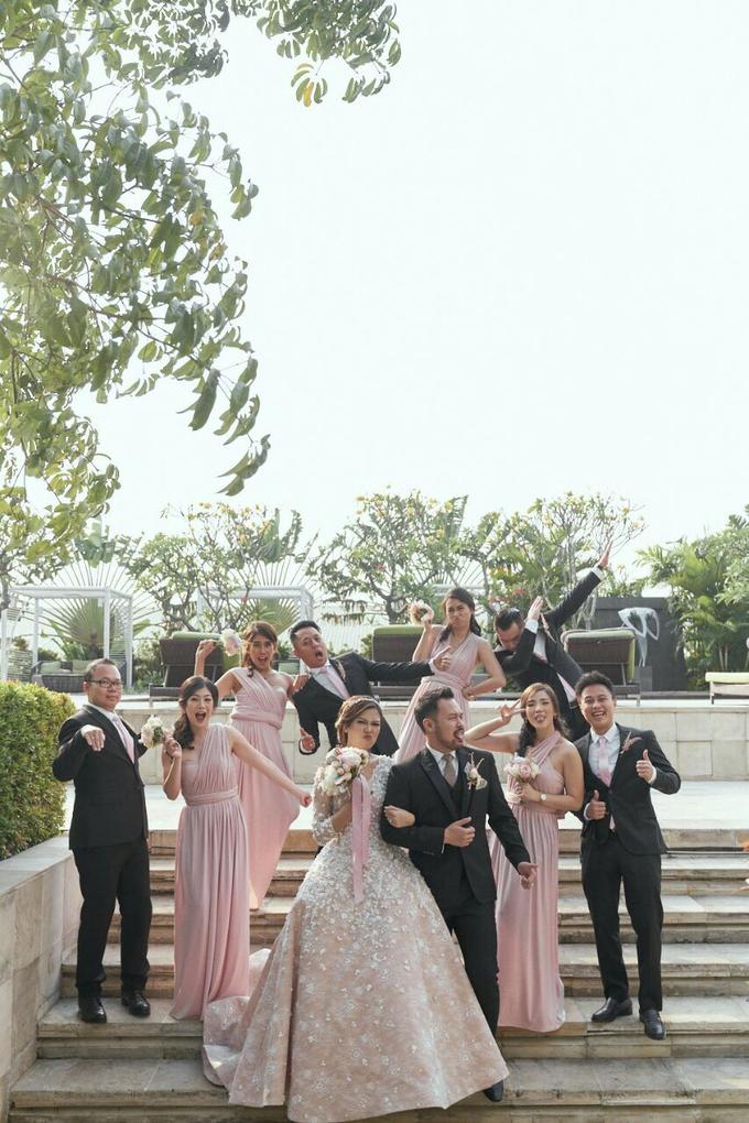 ANDREAS & HERLIANI • PRINCESS PINK by MALVA Bridesmaids - 011