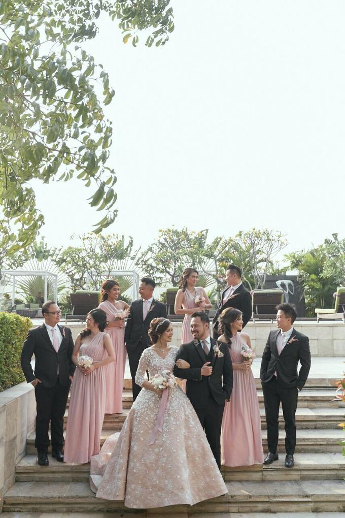 ANDREAS & HERLIANI • PRINCESS PINK by MALVA Bridesmaids - 012