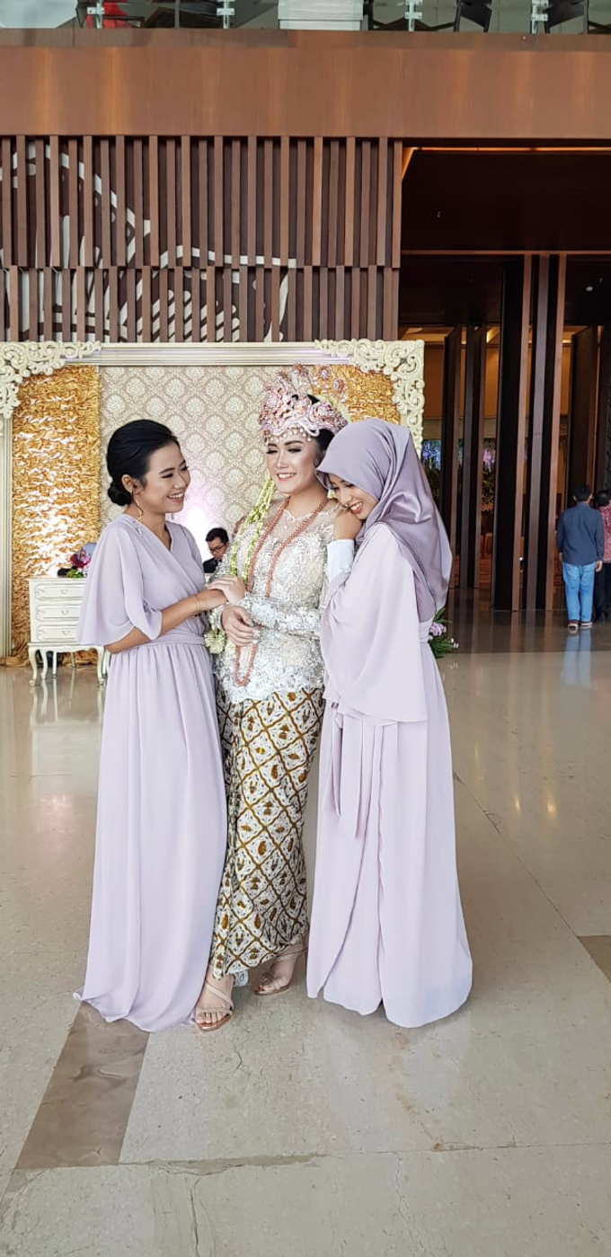 REYHAN & CITRA • Modest Lilac by MALVA Bridesmaids - 002