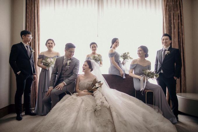 ANDY & STEVANY • LILAC GRAY by MALVA Bridesmaids - 005