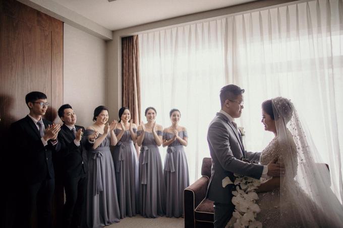 ANDY & STEVANY • LILAC GRAY by MALVA Bridesmaids - 004