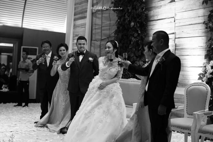 Wedding Reception of Harry & Fina by Nana Cake Boutique - 004
