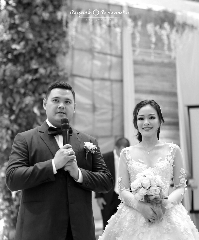 Wedding Reception of Harry & Fina by Nana Cake Boutique - 002