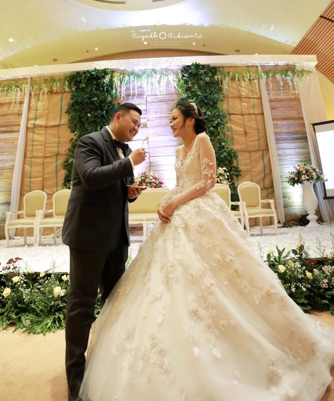 Wedding Reception of Harry & Fina by Nana Cake Boutique - 005