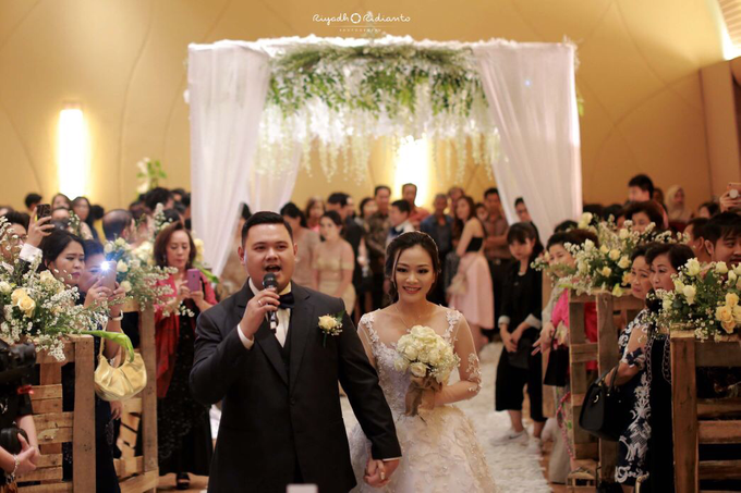 Wedding Reception of Harry & Fina by Nana Cake Boutique - 001