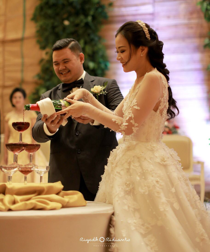 Wedding Reception of Harry & Fina by Nana Cake Boutique - 003