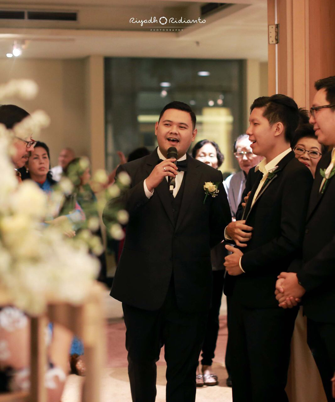 Wedding Reception of Harry & Fina by Nana Cake Boutique - 007