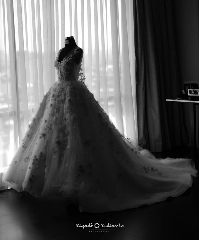 Wedding Reception of Harry & Fina by Nana Cake Boutique - 010