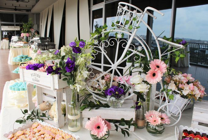 Rustic Wedding Dessert Table by Manna Pot Catering - 008