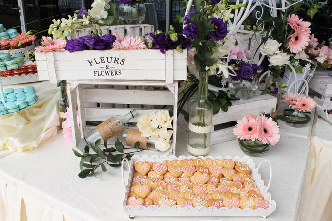 Rustic Wedding Dessert Table by Manna Pot Catering - 005