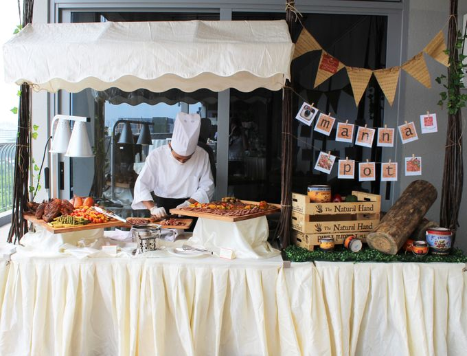 Rustic Wedding Dessert Table by Manna Pot Catering - 013