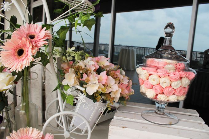 Rustic Wedding Dessert Table by Manna Pot Catering - 020