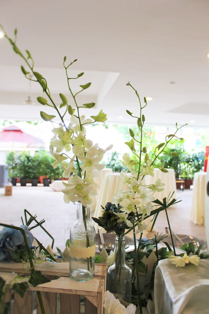 Rustic Garden Of Love by Manna Pot Catering - 022