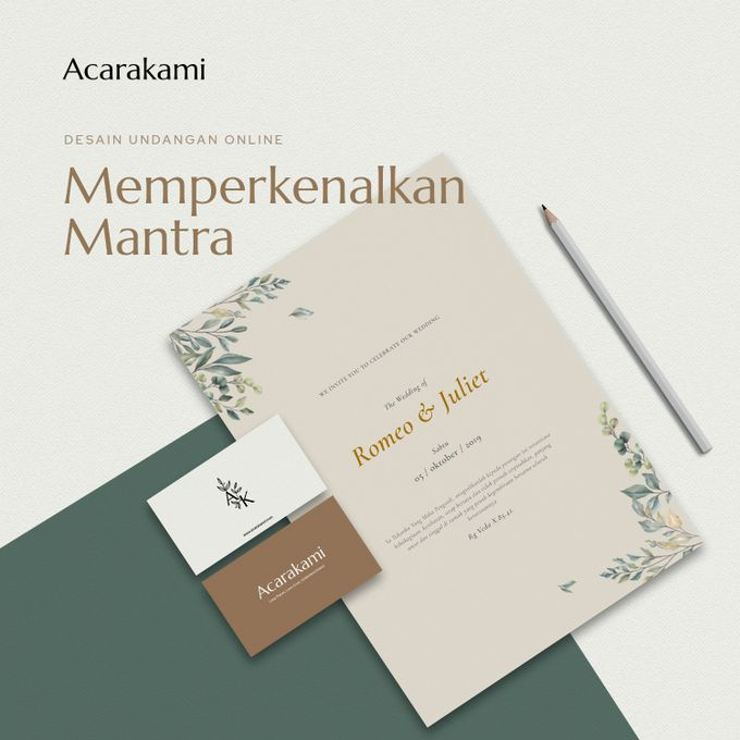 Brenda & Haris Wedding - Undangan Online Desain Mantra by Acarakami.com - 001