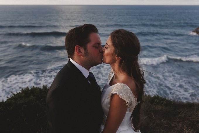 Cathedrals Beach by Manuel Balles. Wedding Photographer. - 008