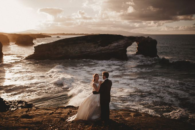 Cathedrals Beach by Manuel Balles. Wedding Photographer. - 014