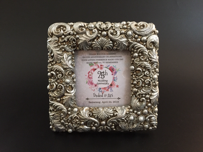 Silver Wedding Anniversary by Marco Mario Souvenir - 003