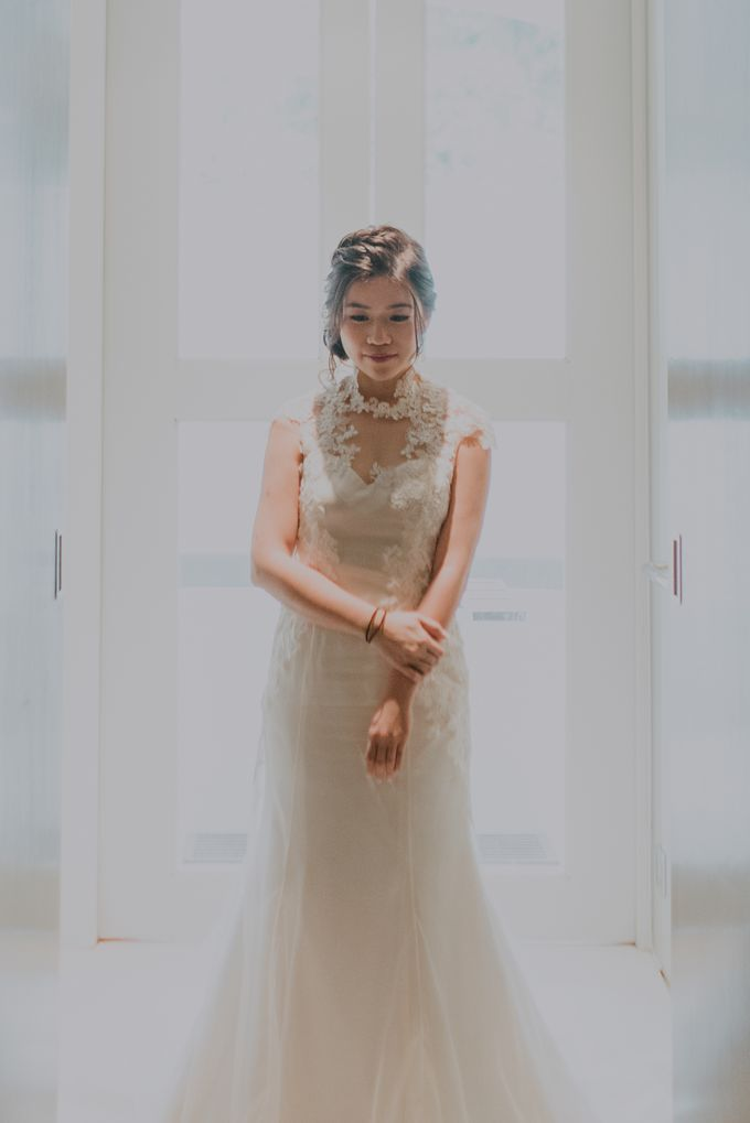 Ying Hui & Marc Wedding by Nicolas Laville Couture - 001