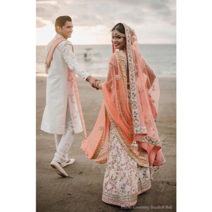 Wedding of Urvashi and Abhijeet Dadarkar by Studio 8 Bali Photography - 003