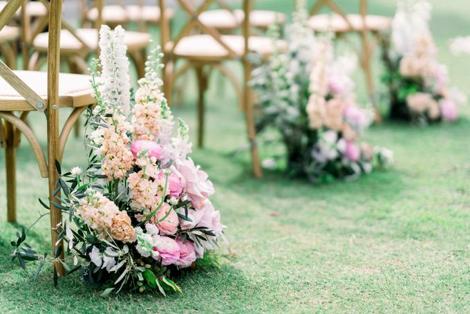 Romantic Spring Wedding by Blushing Grace Wedding and Events - 026