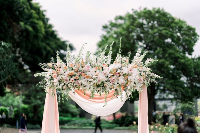 Romantic Spring Wedding by Blushing Grace Wedding and Events - 028