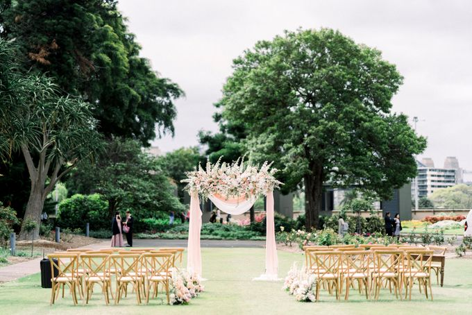 Romantic Spring Wedding by Blushing Grace Wedding and Events - 029