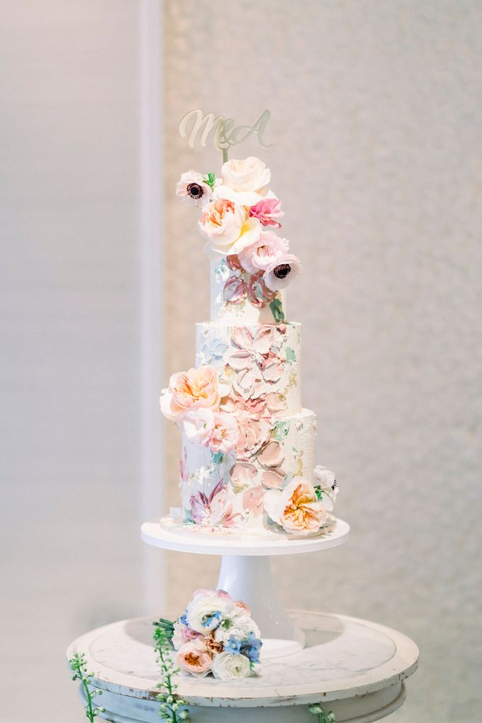 Romantic Spring Wedding by Blushing Grace Wedding and Events - 041