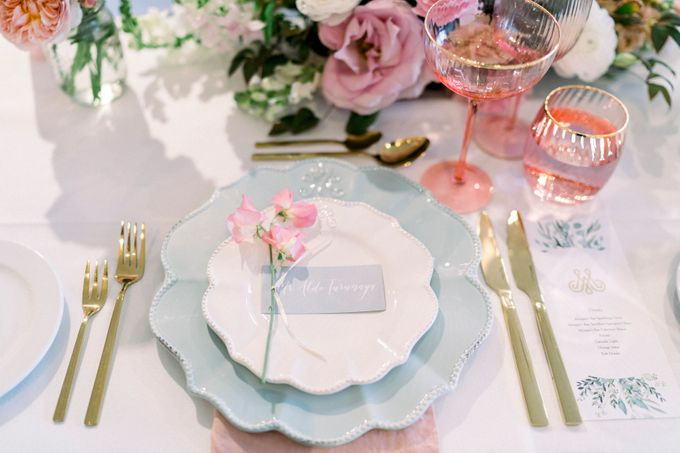 Romantic Spring Wedding by Blushing Grace Wedding and Events - 042