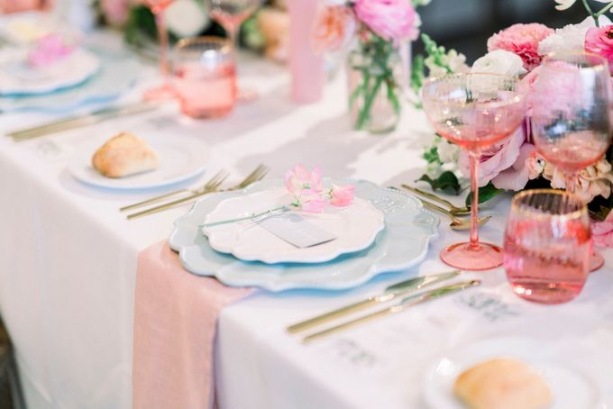 Romantic Spring Wedding by Blushing Grace Wedding and Events - 043